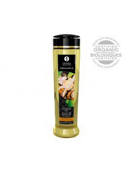 Huile de massage organique - Amande douce - 240 ml