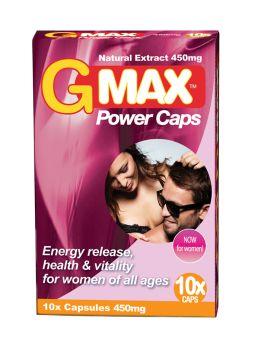 Gmax 10 gélules pour femme