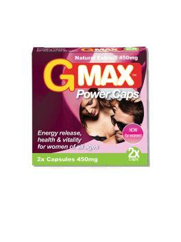 Gmax 2 gélules pour femme