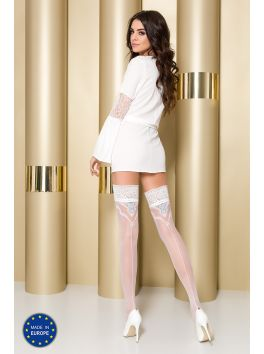 ST108 Stockings 20 DEN - White