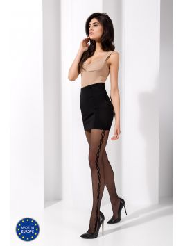 TI029 Collants 20 DEN - Noir