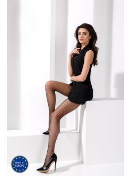 TI020 Collants Résille - Noir