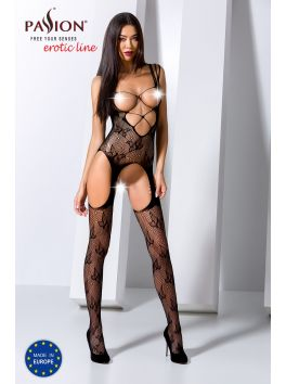 BS075B Bodystocking - Black