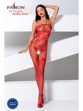 BS074R Bodystocking - Red