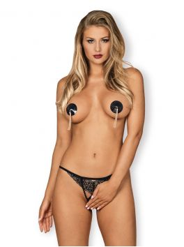 Letica nipple covers black