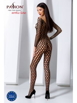 BS077B Bodystocking - Black