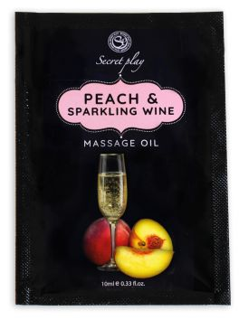 Peach and Sparkling Wine Massage oil 3682 - 50 ml