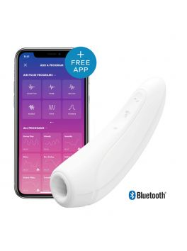 Connected vibrator stimulator Satisfyer Curvy 1+ white