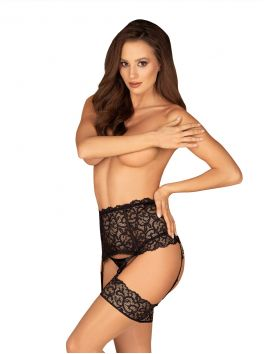 Joylace Garter-belt - Black