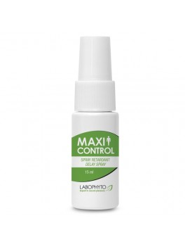 Spray retardant MaxiControl de Labophyto en flacon de 15 ml