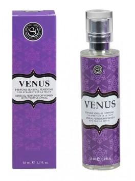Parfum d'attirance sexuelle aux phéromones Venus de Secret Play