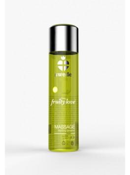 Huile de massage Fruity Love Vanille Poire de la marque SWEDE - 120 ML