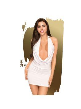Heart rob Dress - White