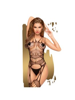 Fatal look Bodystocking - Black