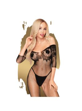 High profile Bodystocking - Black