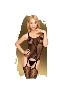 Miss curvy Bodystocking - Black