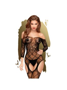 Top-notch Bodystocking - Black