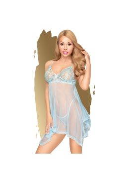 Naughty doll Babydoll - Turquoise