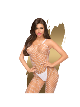 Body search Bodystocking - White
