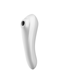 Grossiste sextoys : Stimulateur connecté Satisfyer Dual Pleasure blanc