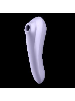 Grossiste sextoys : Stimulateur connecté mauve Satisfyer Dual Pleasure