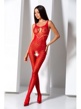 BS069R Bodystocking - Red