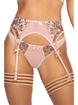 V-9522 Garter Belt - Pink