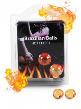 Hot effect brazilian balls Boules brésiliennes de massage erotique effet chaud