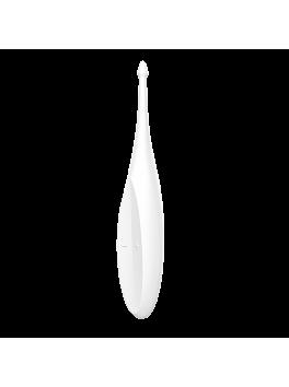 Vibromasseur Satisfyer Twirling Fun blanc distribué par Tendance Sensuelle