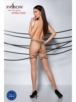 TIOPEN 011 Crotchless Tights 20 den - Beige