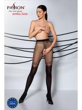 TIOPEN 012 Crotchless Tights 20|40 den - Noir