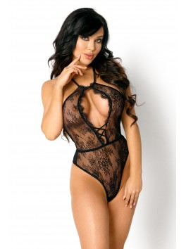 Sexy black teddy Norah from the lingerie brand Beauty Night