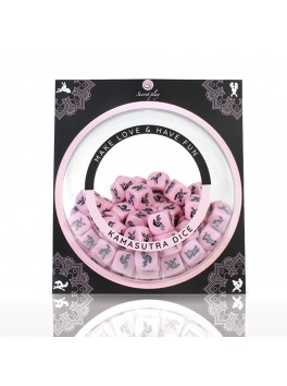 Display for Kamasutra Hetero erotic pink dice from the brand Secret Play