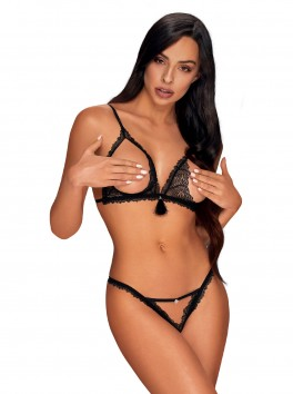 Crotchless 2 pcs set from the brand Obsessive