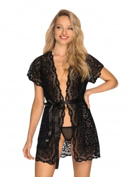 Guilly Black robe from the brand Obsessive