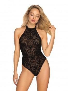 Body noir Softily de la marque Obsessive
