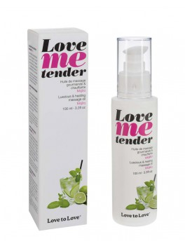 Love to Love huile de massage Mojito 100ML