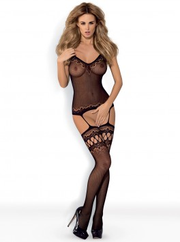 F214 Bodystocking - Black