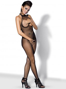 N101 Bodystocking - Black