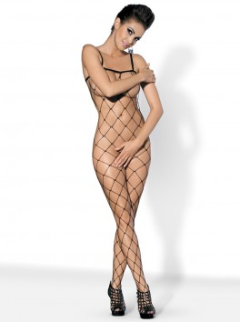 N102 Bodystocking - Black
