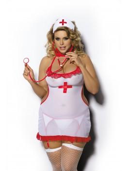 Grossiste Anais Déguisement d'infirmière sexy grande taille