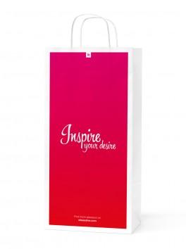 Obsessive big paper shopping bag